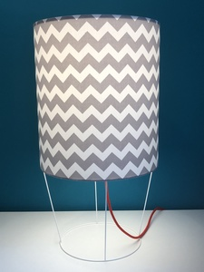 Tischleuchte Big Pott graphic Grey - my lamp