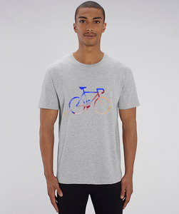 T-Shirt mit Motiv / Race - Kultgut