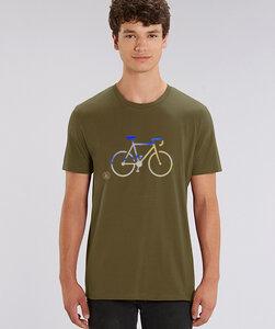 T-Shirt mit Motiv / Silver Race - Kultgut