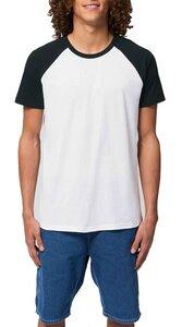 Baseball Unisex Bio Shirt aus 100% Baumwolle (Bio), Bio Short Sleeve  - YTWOO