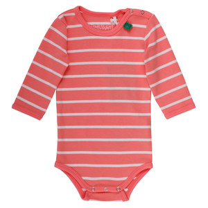 Baby Ringel-Body Langarm  - Fred's World by Green Cotton