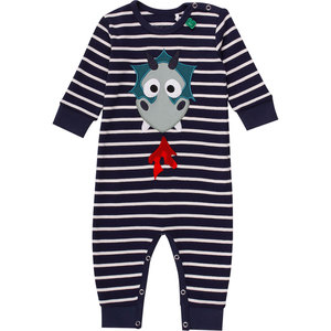 Baby Schlafanzug ohne Fuß Dragon  - Fred's World by Green Cotton