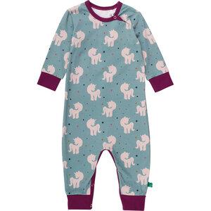 f98a8ee113 Baby / Kinder Schlafanzug Einhorn - Fred's World by Green Cotton