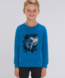 Sweatshirt mit Motiv / GALAXY - Kultgut