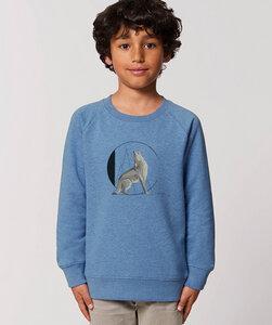 Sweatshirt mit Motiv / Coyote - Kultgut