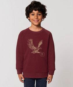 Sweatshirt mit Motiv / Eagle - Kultgut