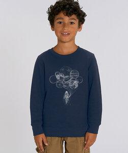 Sweatshirt mit Motiv / Astronaut  - Kultgut