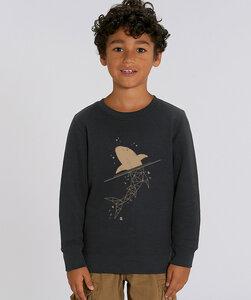 Sweatshirt mit Motiv / Golden Shark - Kultgut