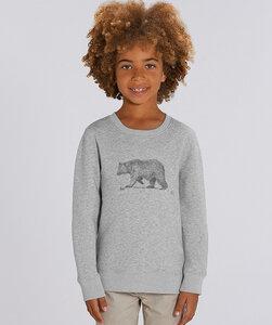 Sweatshirt mit Motiv / Bär - Kultgut