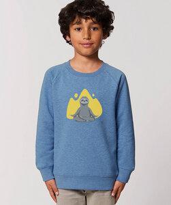 Sweatshirt mit Motiv / Yogafaultier - Kultgut