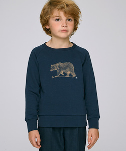 Sweatshirt mit Motiv / Golden Bear - Kultgut