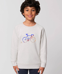 Sweatshirt mit Motiv / Race - Kultgut