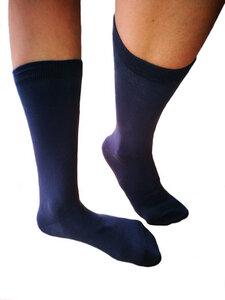 12 Paar Socken Bio-Baumwolle Freizeitsocken Unisex schwarz grau - Albero
