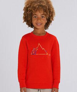 Sweatshirt mit Motiv / Colorful Mountain - Kultgut