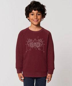 Sweatshirt mit Motiv / White Controller - Kultgut