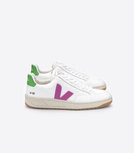 Sneaker Damen - V-12 B-Mesh - White Ultraviolet Granny - Veja