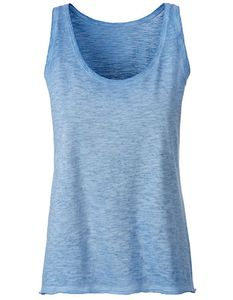Damen Tank Top  James&Nicholson Bio Baumwolle  - Neutral