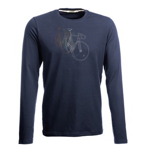 Longsleeve Jazzy Bike Row - GreenBomb
