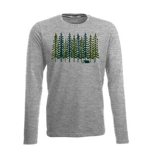 Longsleeve Jazzy Nature Forest - GreenBomb