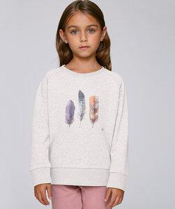 Sweatshirt mit Motiv / Federn - Kultgut