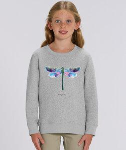 Sweatshirt mit Motiv / Libelle  - Kultgut