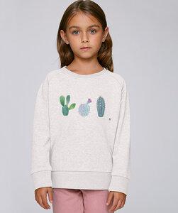 Sweatshirt mit Motiv / Kakteen - Kultgut