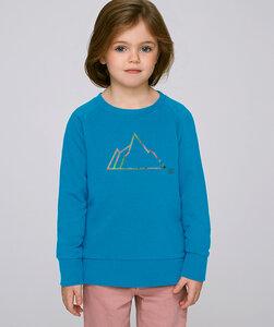 Sweatshirt mit Motiv / Neon Mountain - Kultgut