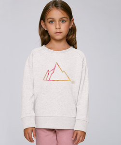 Sweatshirt mit Motiv / FADED MOUNTAIN - Kultgut