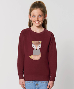Sweatshirt mit Motiv / Fox - Kultgut