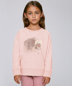 Sweatshirt mit Motiv / Rabbit Wunderland - Kultgut