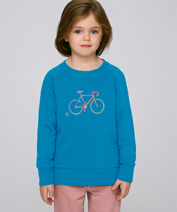 Sweatshirt mit Motiv / COLORFUL BIKE - Kultgut