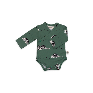 Wickelbody Gürteltierprint - Body kimono armadillo jersey cotton - Onnolulu