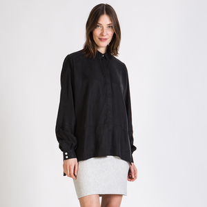 Oversized Bluse IVY aus Tencel® - stoffbruch
