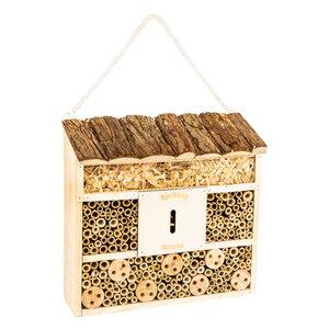 Insektenhotel 29,5x0x28,5cm | Bienenhotel / Unterschlupf für Insekten - Bambuswald