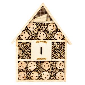Insektenhotel 28,5x9x39 cm | Bienenhotel / Unterschlupf für Insekten  - Bambuswald