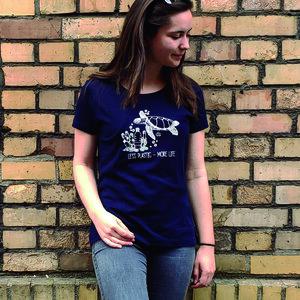 Damen T-Shirt - Schildkröte - Barquito