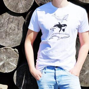 Herren T-Shirt - Wale - Barquito