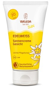 Weleda Edelweiß Sonnencreme Gesicht LSF 30 - Weleda
