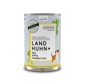 Bio Land Huhn+ Nassfutter-Menü - naftie