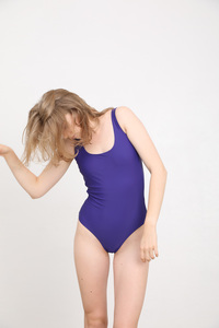 """Klassischer Badeanzug mit elastischem Unterband """"SWIMSUIT No. 5"""" - MARGARET AND HERMIONE Swimwear Vienna"""