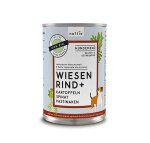 BIO WIESEN RIND+ Nassfutter-Menü - naftie