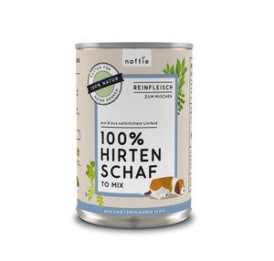 100% HIRTEN SCHAF Premium-Reinfleisch für Hunde - naftie