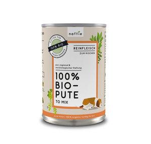 100% BIO-PUTE Reinfleisch-Nassfutter - naftie