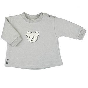 Baby-Sweatshirt mit frechem Bärchen (55870) - carl&lina