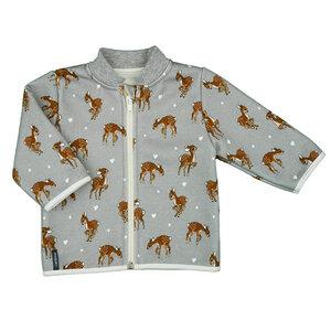 """Wunderbar kuschlige Jacke mit Stehkragen aus dem """"Bambi-Land"""" (557110) - carl&lina"""