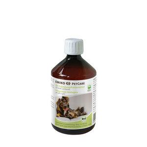 PETCARE Bio-Ergänzungsfutter für Hunde & Katzen, 500ml - Emiko
