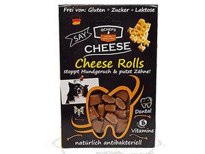 Cheese Rolls - Käse-Leckerlis gegen Mundgeruch & Zahnstein  - qchefs