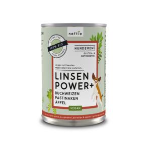 BIO LINSEN POWER+ veganes Nassfutter-Menü - naftie