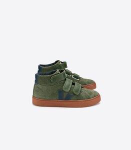 Sneaker Kinder - Esplar Mid Suede - Olive Nautico Rust Sole - Veja