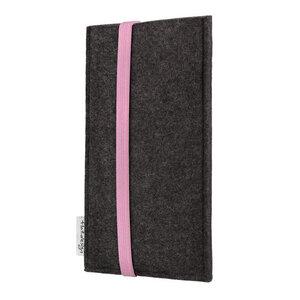 Handyhülle COIMBRA für Huawei P-Serie - VEGAN - Filz Schutz Tasche - flat.design